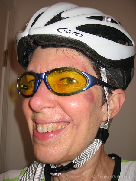 July 3, 2004 - my first bike ride after the crash!