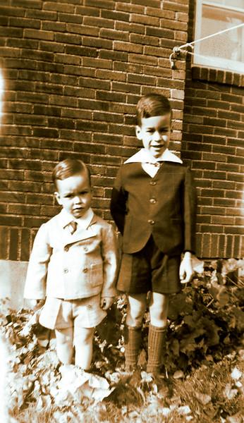 Robert and John Stephenson.