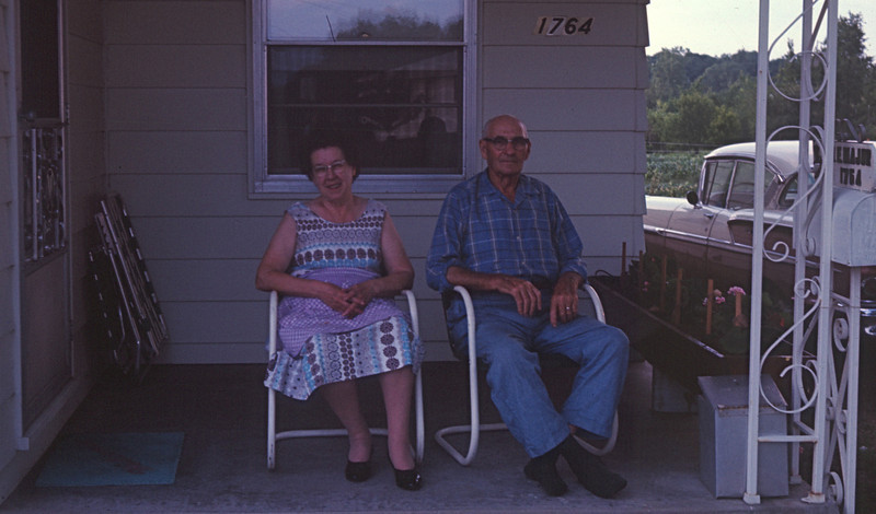 Andi and Marla's Great Grandma and Great Grandpa Major in 1965
