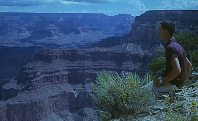 Dave at Grand Canyon 1965
