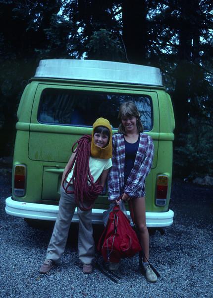 Tahquitz climbing - 1984