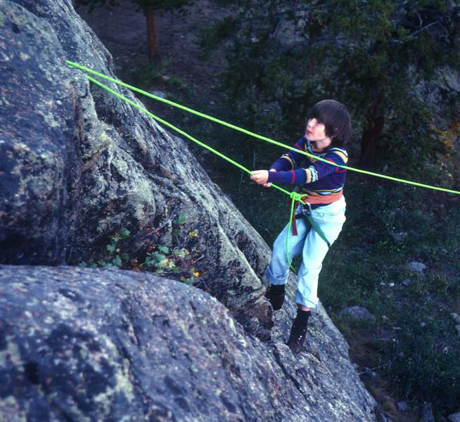 Wind River Backpack trip in 1982