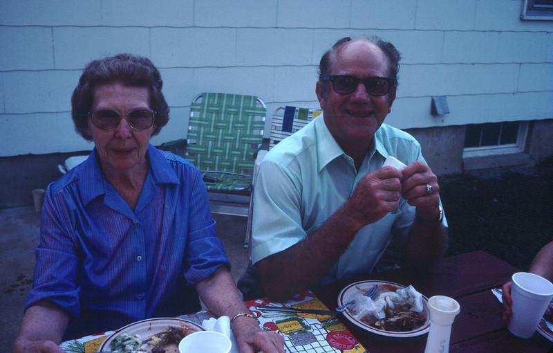 Vera and Leo<br /> Waterloo Visit 1985
