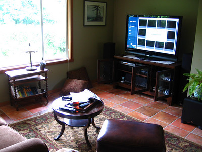 New Entertainment Room (former Dining Room)
