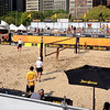 Some beach volleyball - The Chicago Open