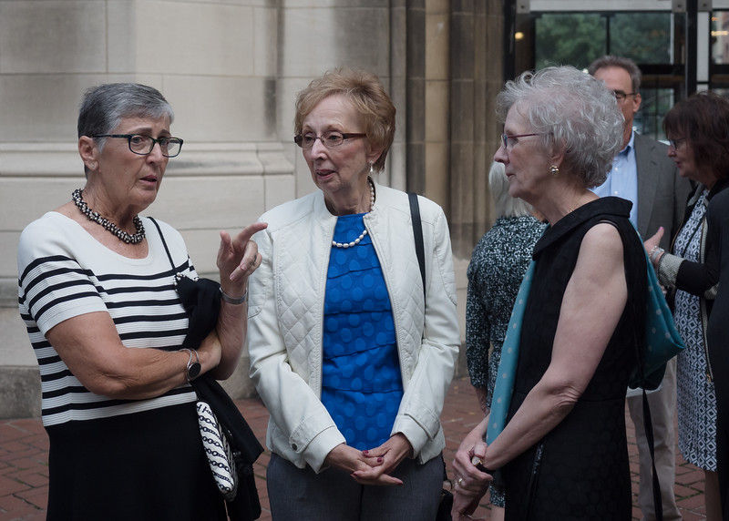 Eileen Connelly, Evie Lopopolo and Agnes Quinn