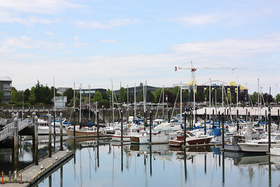 Photo of Everett Marina on the way to Camano. Pat picked up the boat here to take to the cabin.