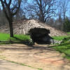Miwok roundhouse, Indian Grinding Rock State Park
