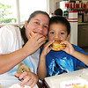 5-28-2005 Amanda & Jr eating at In & Out Burg