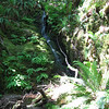 Enos Lake waterfall