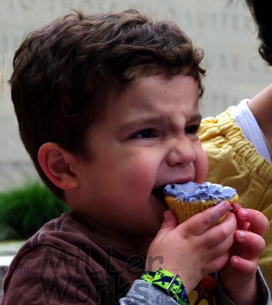 mmmm...birthday cupcakes