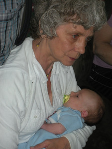 With Great Grandma Jane