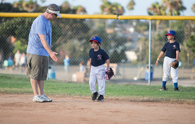 Little League Game - 8-6-2014