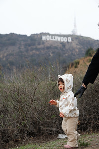 Trip to the Hollywood Sign - 2010