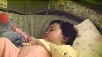 3/15/2009 - Some video of our Gabrielle heading off to sleep.