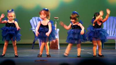 6/26/2011 - Webby Dance Performance of Itsy Bitsy Spider.  She rocked!
