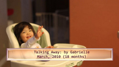 3/5/2010 - Talking away at 18 months  (March  2010)