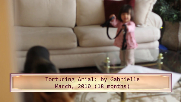 Gabrielle 1 Year Old Videos