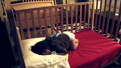 6/23/2010 - First night in her toddler bed!