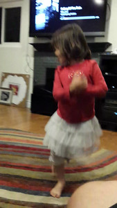 Just some evening dancing - ballet to Billy Joel.