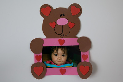 February 12, 2009.  Happy Valentine's Day mommy and daddy!