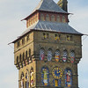 Clock Tower of Cardiff castle.