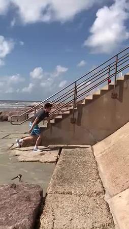2018-01 Galveston with Brady & Autumn
