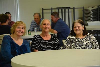 Dawn Hall, Debbie Esquivel and Debbie Morrill