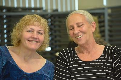 Dawn Hall and Debbie Esquivel