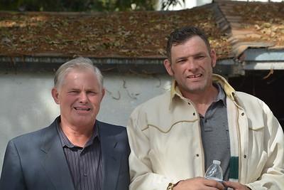Tim Antonetti and Lonnie Barker