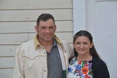 Lonnie Barker and Emina Diaz