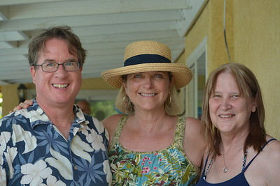 Bruce and Kathleen Yeager  and Janice Gamboni