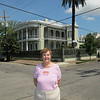 Susan.  Most of the houses were constructed during the antibellum period before the civil war when New Orleans was the most wealthy city in the country.  Now it is one of the poorest cities, although you would not know that in the Garden District.