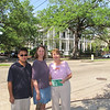 Chris, Katie and Susan (holding our guide to the Garden District that Liz gave us).