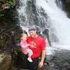 Reese & Daddy at the falls