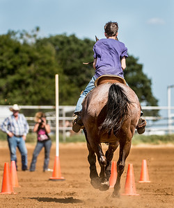 The National Association of Riding Clubs and Sheriff's Posses run their 2012 National Final Playday at the AA Arena in Bowie, Texas on September 2, 2012