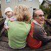 Thor & Grandpa Gary, featuring Grandma Connie's Hair
