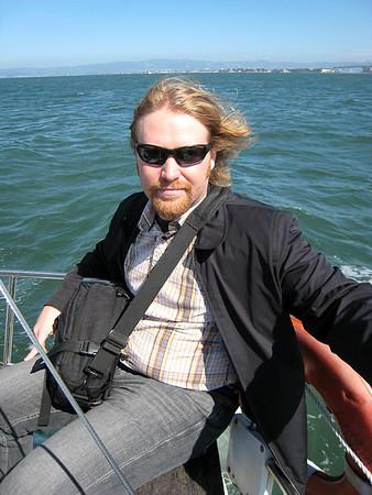 Gary Sailing Birthday, September 2008