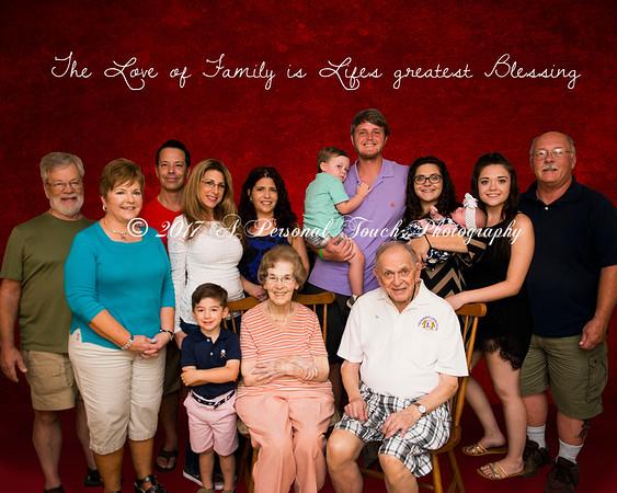 Gary and Gina's family