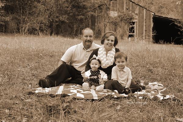 Gates Family/Everly's 1st Birthday
