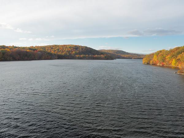 Bridge over looking Croton Reservoir