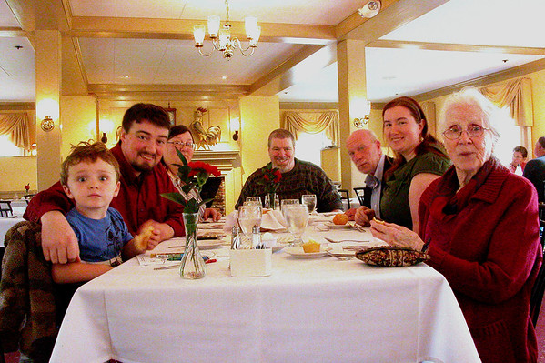 Family Luncheon At Wayside Inn