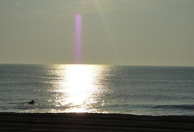 sunset at Rehobeth