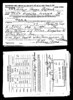 1942 World War II draft card for Arthur Matthews
