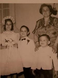 Nina and her grandmother Anna Winick Berman