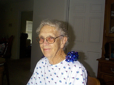 April 15, 2000 - (80th Birthday / Summerville, Dorchester County, South Carolina) -- Vera