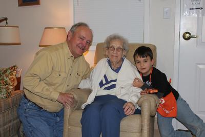 March 5, 2011 - (Autumn View Gardens / Ellisville, Saint Louis County, Missouri) -- David, Vera & Aaron