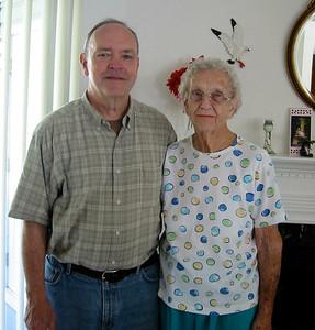 September 28, 2005 - (In the kitchen / Summerville, Dorchester County, South Carolina) -- David & Vera