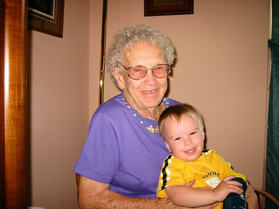 June 24, 2002 (David's house / Manchester, Saint Louis County, Missouri) -- Vera & James after Andrew's Wedding
