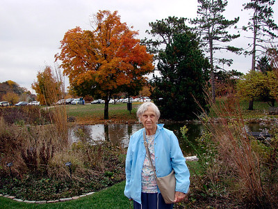 October 28, 2009 - (Faust Park / Chesterfield, Saint Louis County, Missouri) -- Vera at Faust Park outside the Butterfly House